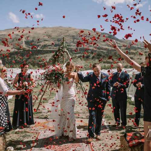 Archangel Vineyard - best Wanaka wedding venues