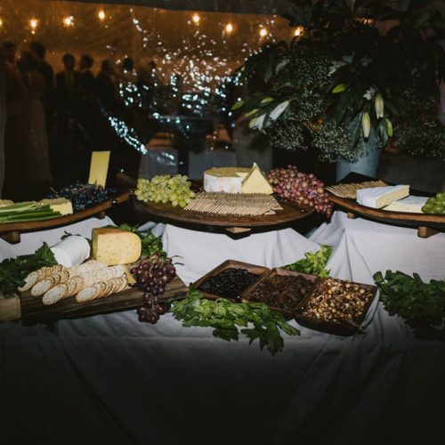 Raspberry Creek Catering Cheese table alice+sam
