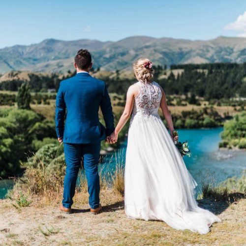 Clutha River - Bride & Groom