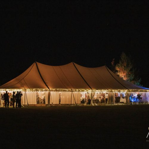 Wanaka wedding - Tipi wedding