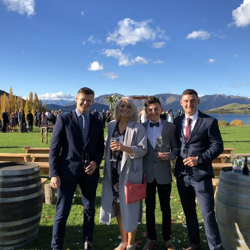 Wanaka catering - Raspberry Creek Food Co - Wedding guests