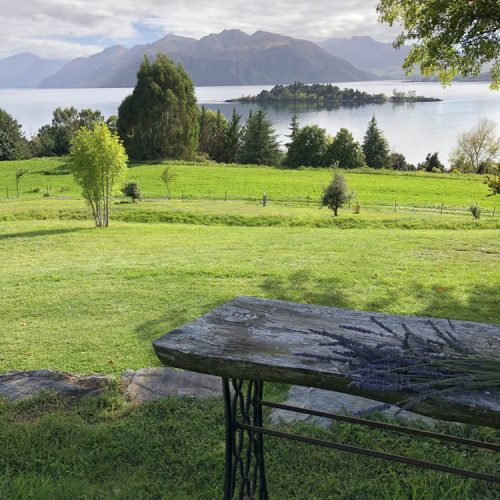 Vintage table, Lake Wanaka Wedding Styling