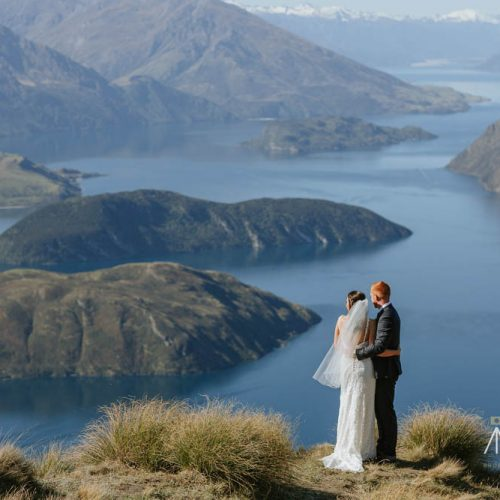Coromandel Peak photo location - Wanaka Wedding Photos