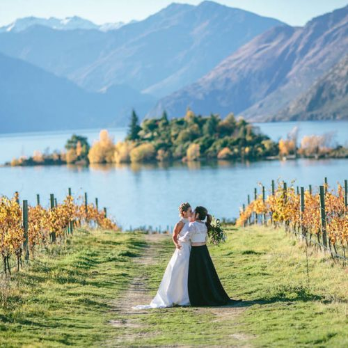 Same-sex weddings - Wanaka