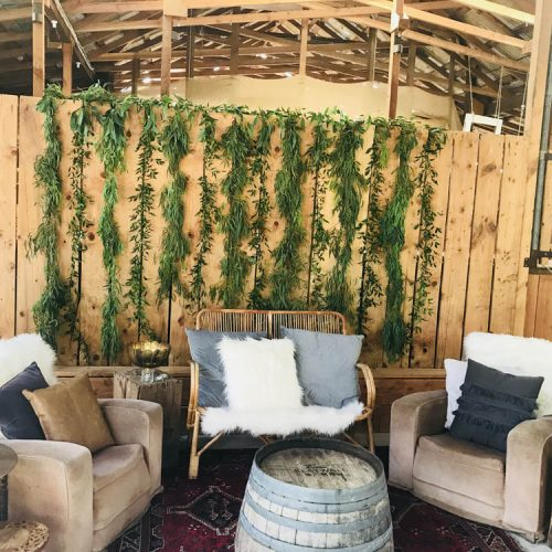 Cosy seating - Wanaka wedding planning