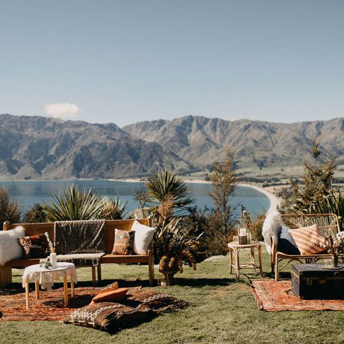 Wedding styling wanaka