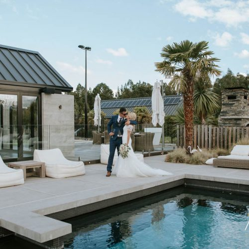 Luxury Wanaka Wedding Venue - Swimming Pool