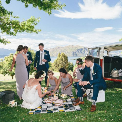 bridal party hamper - Wanaka catering - Raspberry Creek Food Co