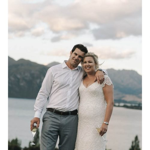 bride and groom - Wanaka catering