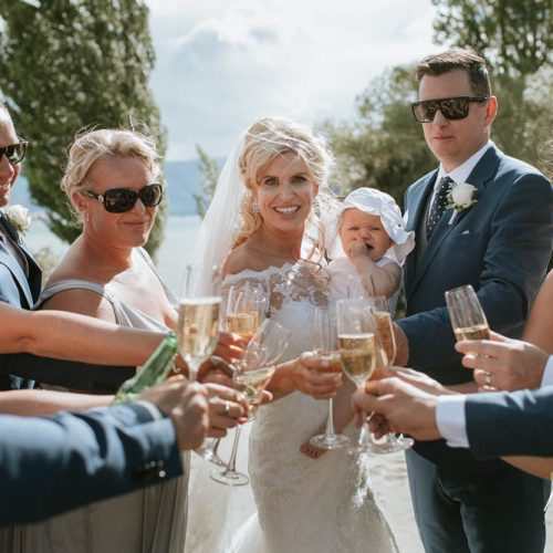 Champagne Glasses - Wanaka Weddings