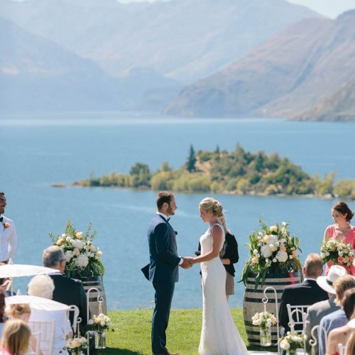 Ruby Island - Wanaka Wedding Venue