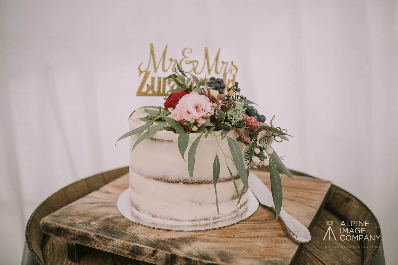 Wanaka Wedding Cakes - Raspberry Creek Catering