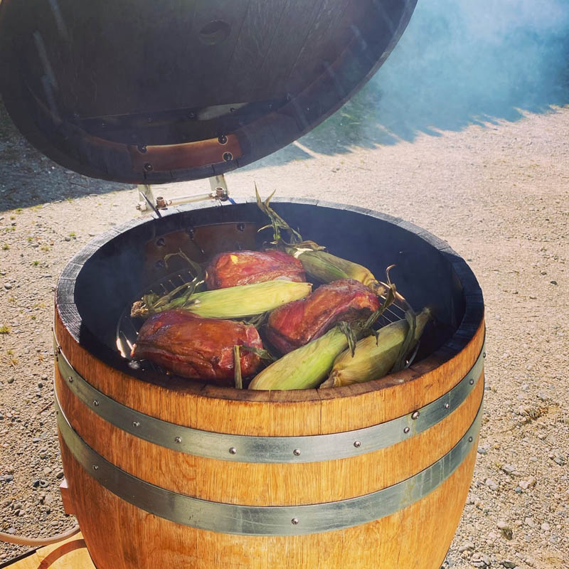 Smoker - The Chef's Table - Raspberry Creek Catering