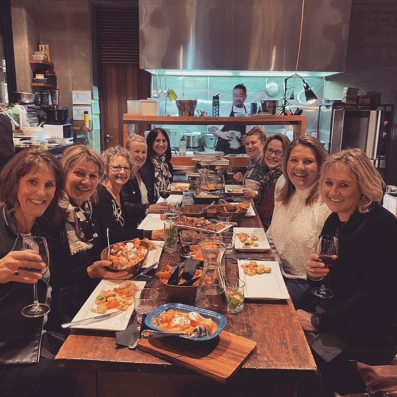 Happy Diners - The Chef's Table - Raspberry Creek Catering Wanaka