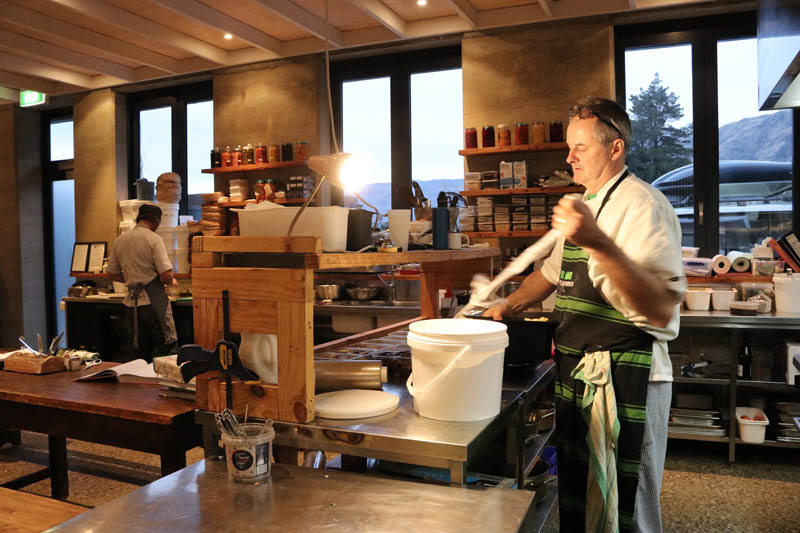 Chef in action - Chef's Table - Raspberry Creek Catering